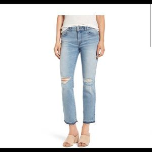 DL1961 Mara instasculpt ankle straight crop jeans